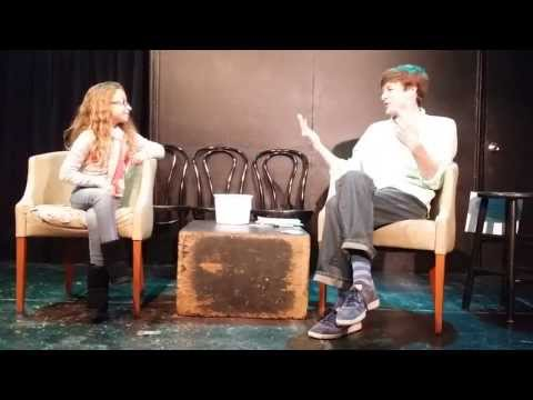 Julia Interviewed at The Audience Show with Dominic Dierkes
