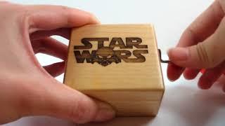 Музыкальная шкатулка которая проигрывает главную тему фильмов Звездные Войны