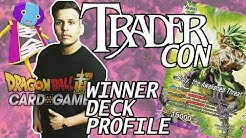 TRADER CON DBS Cardgame Gewinner Deck Profil - Cans Yellow Broly Tri Color Control