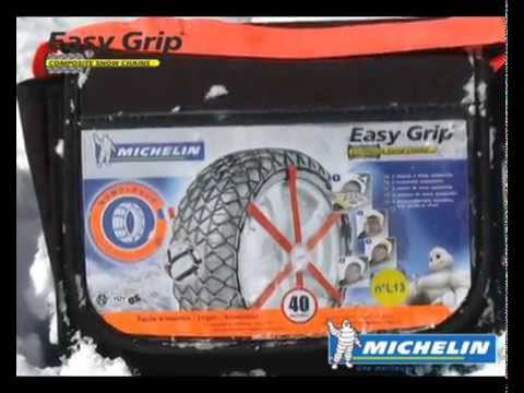 les chaines neige easy grip de michelin euromaster youtube. Black Bedroom Furniture Sets. Home Design Ideas