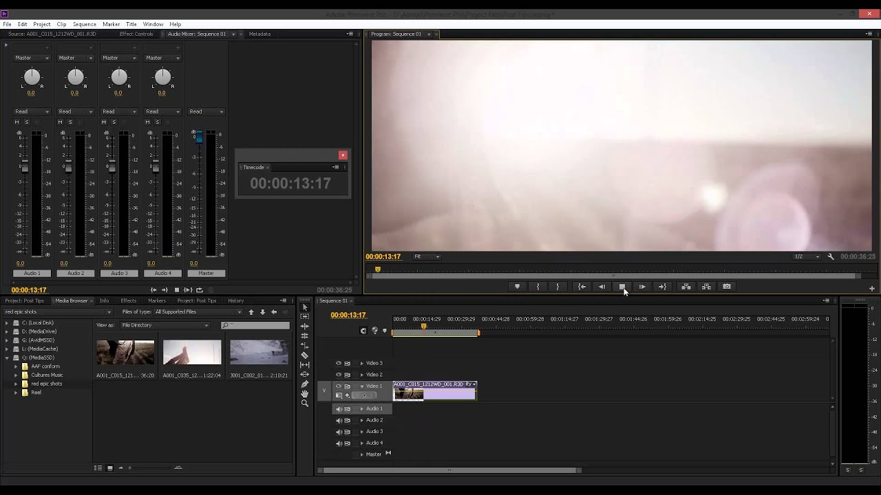 Tips For Configuring Adobe Premiere Pro CC - The Beat: A Blog by