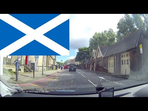 Driving in Scotland - Edinburgh City 1.5 hours