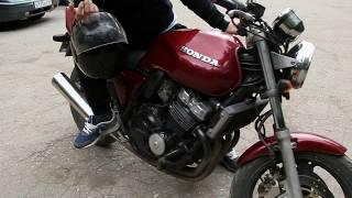 Honda CB 400 SF. Знакомство