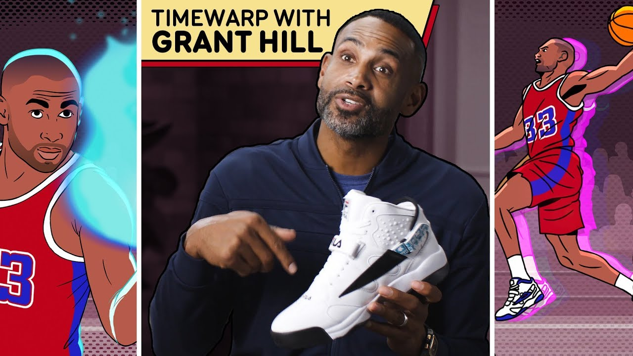Grant Hill Remembers His First Poster As A Soul Snatcher | Remembers Everything, Down To The Kicks