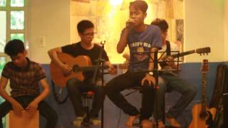 Một mình guitar acoustic