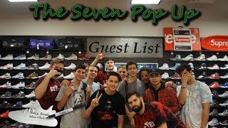 Guest List Pop-Up | I Got The Yeezys  Signed! Video