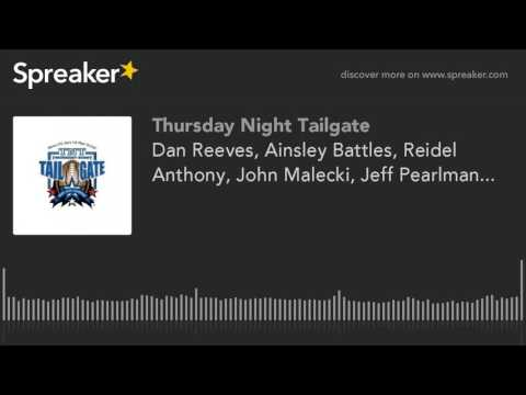Dan Reeves, Ainsley Battles, Reidel Anthony, John Malecki, Jeff Pearlman...