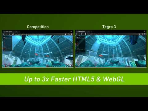 NVIDIA Tegra 3: Side by Side Comparisons