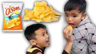 Lùn Tippi | Troll Bé 2 Tuổi Ăn Bim Bim Lúc Khóc Lúc Cười