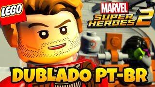 LEGO Marvel Super Heroes 2 PT BR - GAMEPLAY DO INÍCIO DUBLADO EM PORTUGUÊS