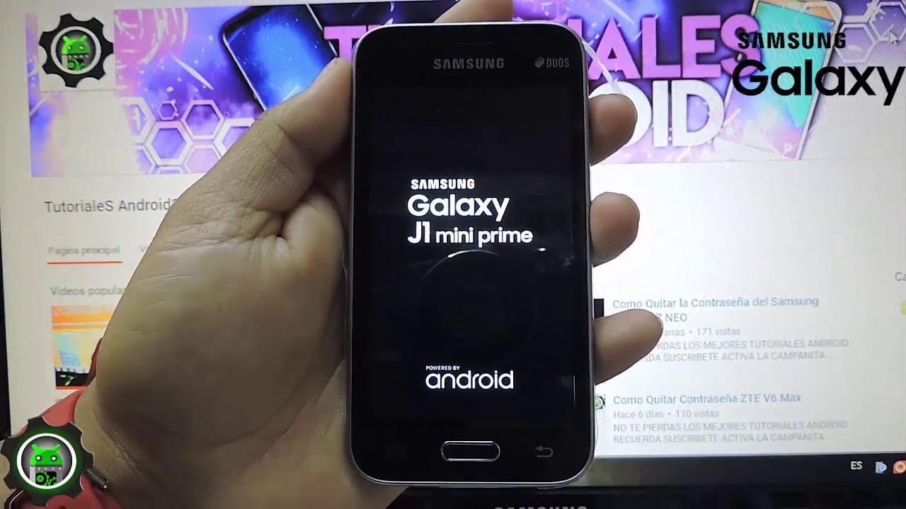 Como Desbloquear Samsung Galaxy J1 Mini Prime YouTube