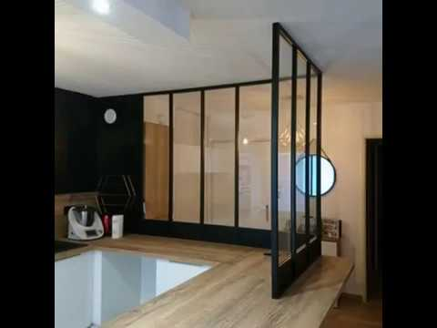 pose d 39 une verri re en aluminium youtube. Black Bedroom Furniture Sets. Home Design Ideas