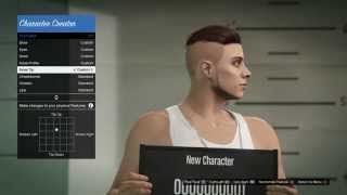 Grand Theft Auto V Online Character Customization PS4