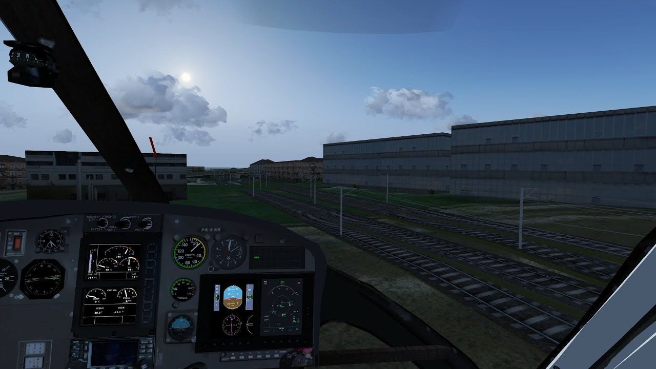 [FlightGear] Road Development Test in Liverpool