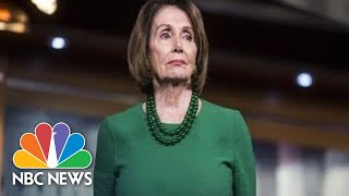 Nancy Pelosi Speaks After Democrats' Caucus Meeting On Impeachment | NBC News