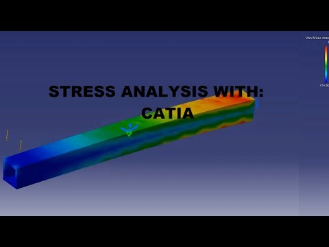 How To Run A Stress Analysis With Catia