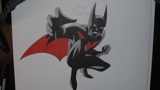 Drawing Batman Beyond