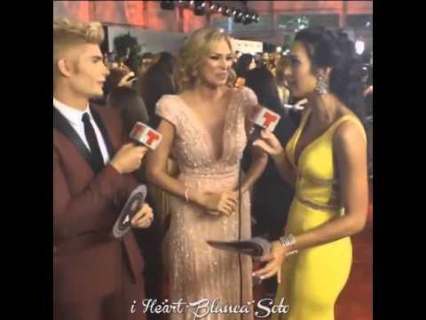 Blanca Soto entrevista en los Latin Billboards 2016