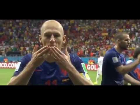 Arjen Robben wins the Golden Dive Award