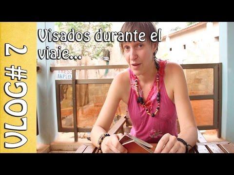 Visados de África durante el viaje, Mauritania, Nigeria, Congo... Vlog #07 - Vuelta al Mundo en Moto