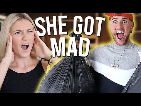 WE GAVE AWAY EVERYTHING SHE OWNS PRANK!!!!