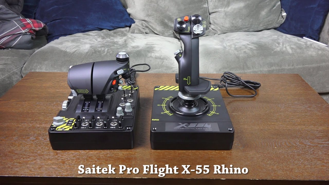 Couchtisch 55 X 55 Saitek Pro Flight X-55 Rhino Review: Ready For Vr - Youtube