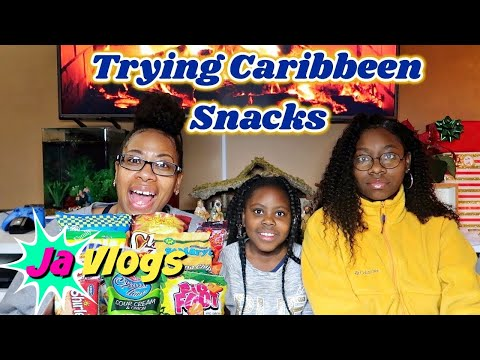 Americans Try Caribbean Snacks | Tasty Island Crate