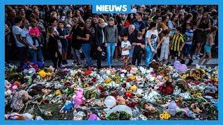 Bloemen, knuffels en veel kinderen bij herdenkingsplek in Oss