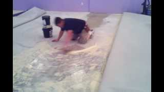 Derick Jenkins, Fastest Carpet Layer Ever