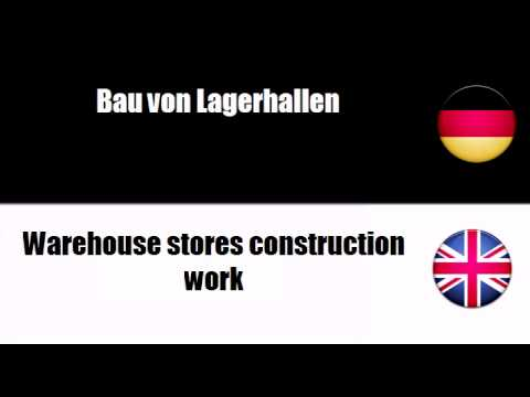Deutsch + Englisch = Construction work for social services buildings