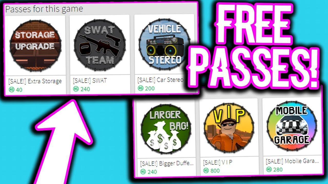 Vip Game Pass Roblox Jailbreak | Games World