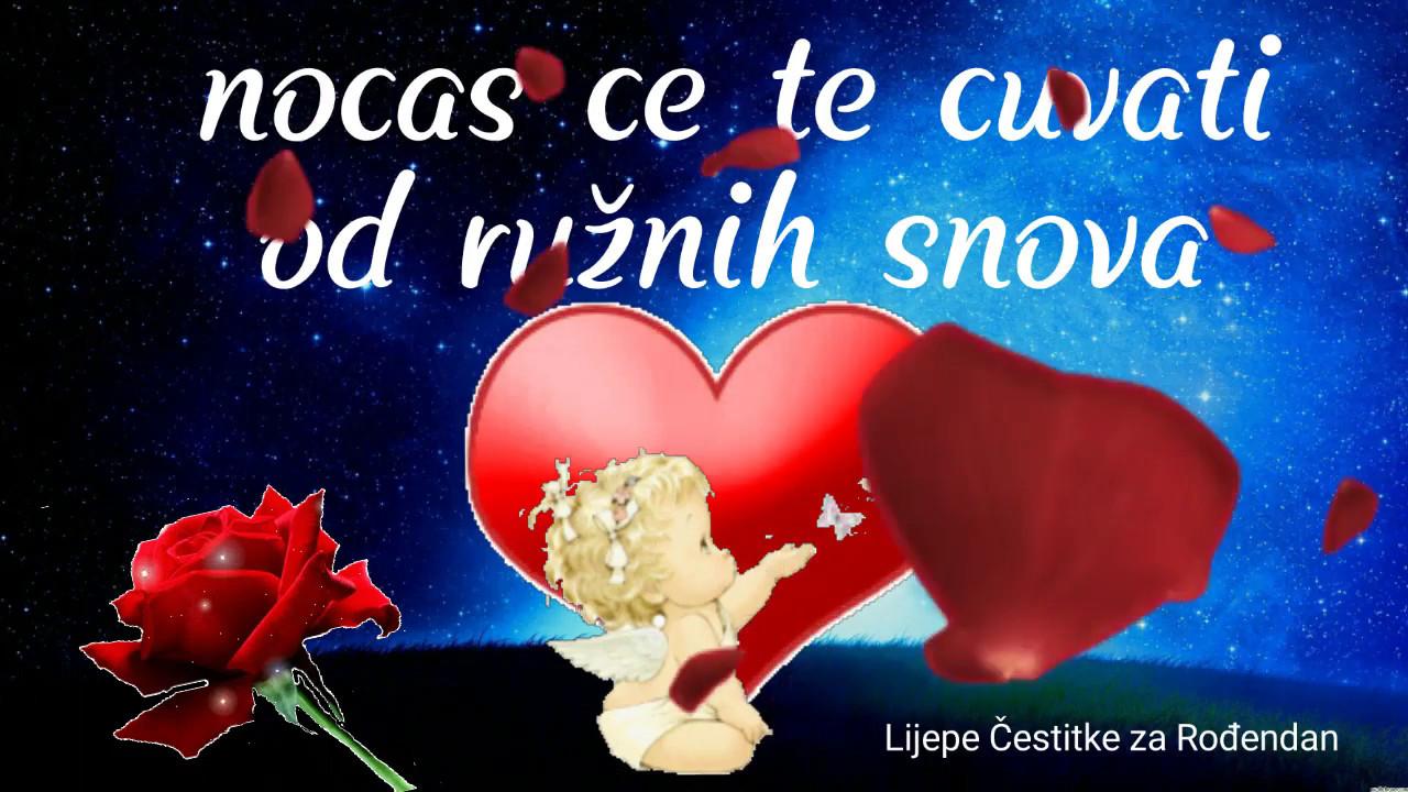 Tebi Za Laku Noć By Lijepe čestitke Za Rođendan