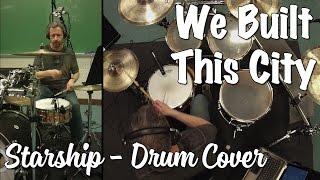 Startship - We Built This City Drum Cover (Blocked in the US - sorry)