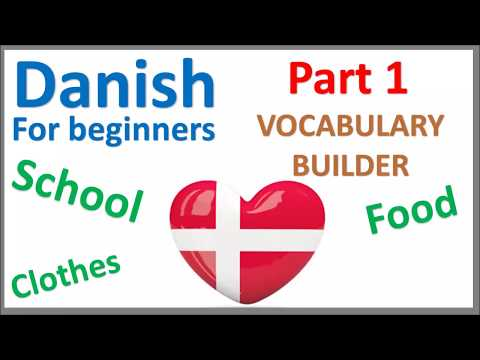 Danish Vocabulary (Part 1) | Most used words | Vocabulary Builder