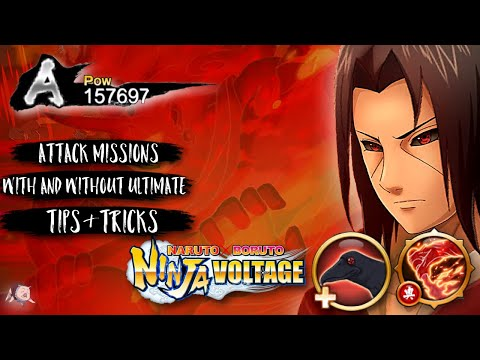 [NxB] Edo Itachi Is A BEAST At Attack Missions! Kit Showcase + Tips & Tricks