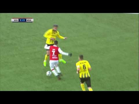 Samenvatting van de wedstrijd VVV-Venlo - MVV Maastricht
