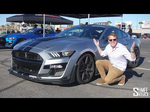 NEW SHELBY GT500 First Drive and 10.7s 1/4 Mile Drag Strip!