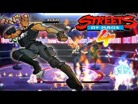 Estel Survival Mode! - Streets of Rage 4 Mr. X Nightmare Gameplay |