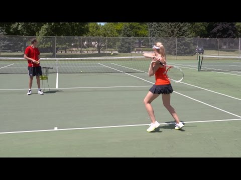 Pinpoint Forehand Accuracy - Tennis Lesson