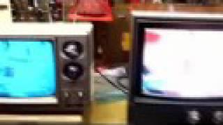 Two free early 1980s TV sets (Sears & Panasonic)