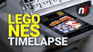 LEGO Nintendo Entertainment System Simultaneous Timelapse Build