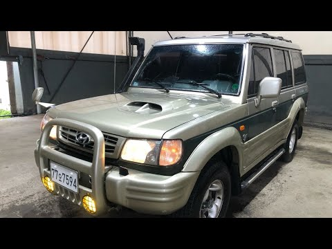 2000 Galloper Review 4×4 KMYKP17CPYU400659 galloper 4wd auto