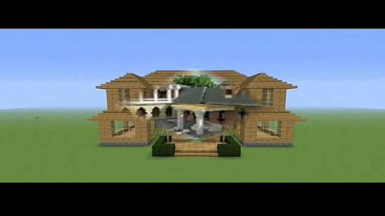Najlepse kuce u Minecraft-u - YouTube