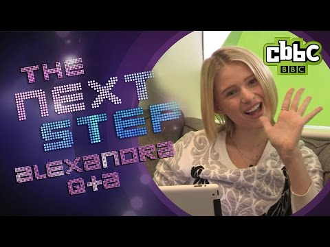 The Next Step: Emily  Alexandra Beaton answers  questions on CBBC
