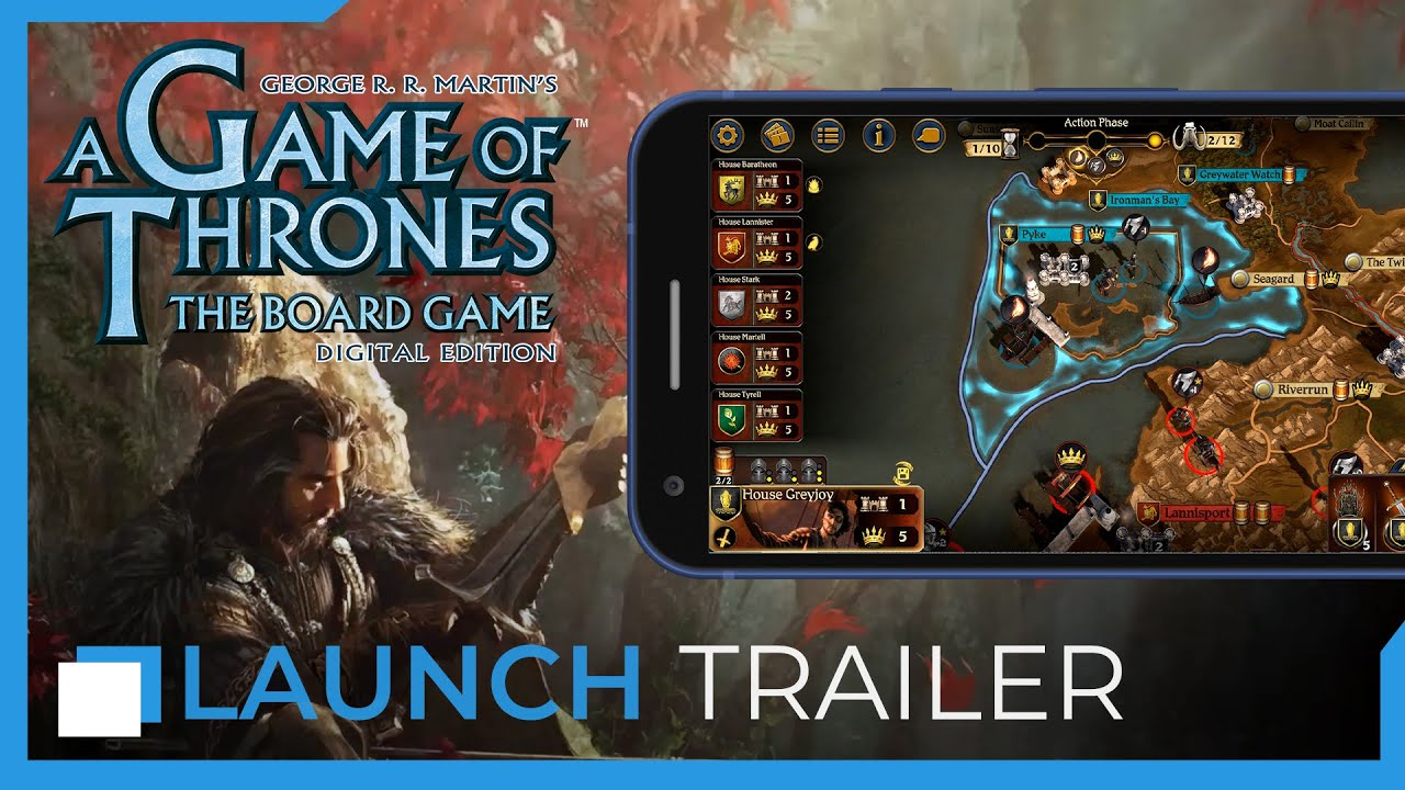 A Game of Thrones: The Board Game - Digital Edition — Mobile Trailer