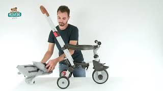 Tricikel in voziček zložljiv Evolutive Robin Trike