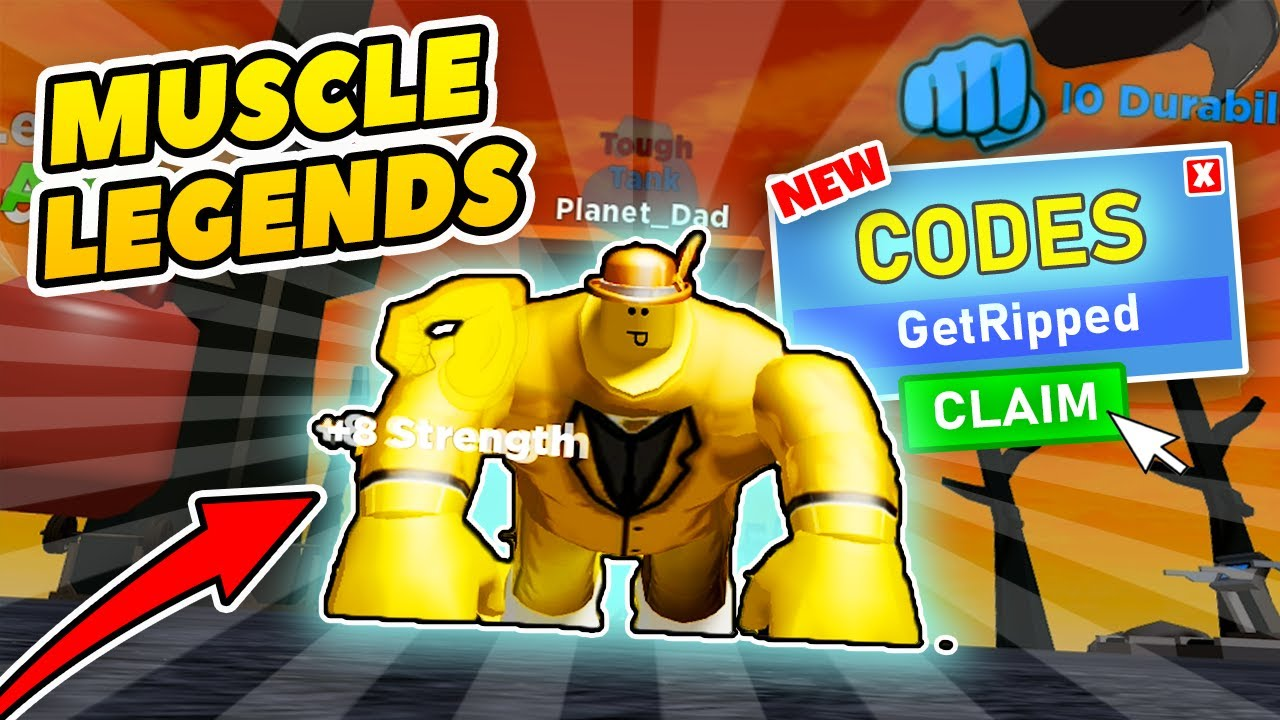 muscle legends roblox codes