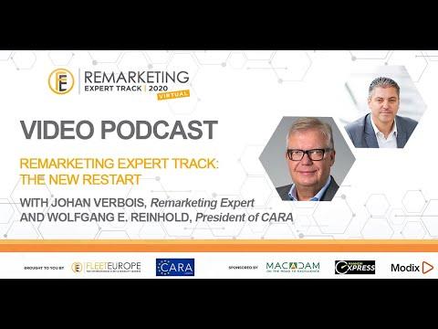 Fleet Europe Remarketing Expert Track: Podcast #1 with Wolfgang Reinhold