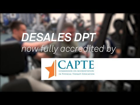 DeSales DPT Program is Now Fully Accredited by CAPTE