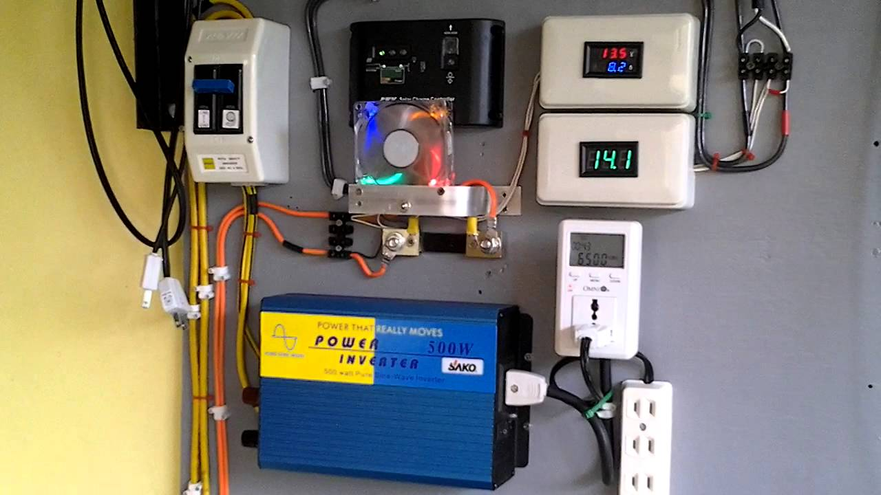 medium resolution of my diy offgrid solar power philippines 1 youtube